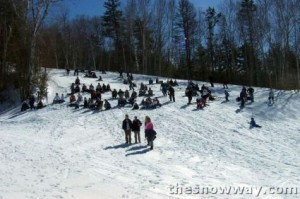 Audience at the Pond Skimming
