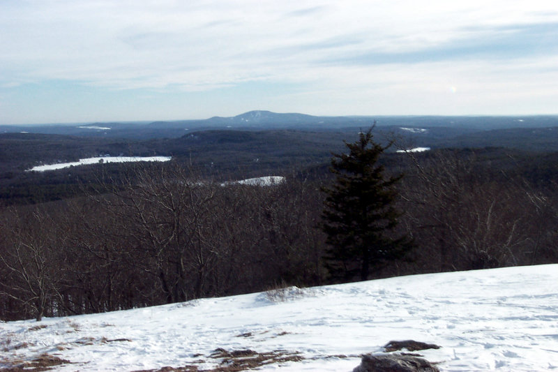 Wachusett from Mount Watatic Summit
