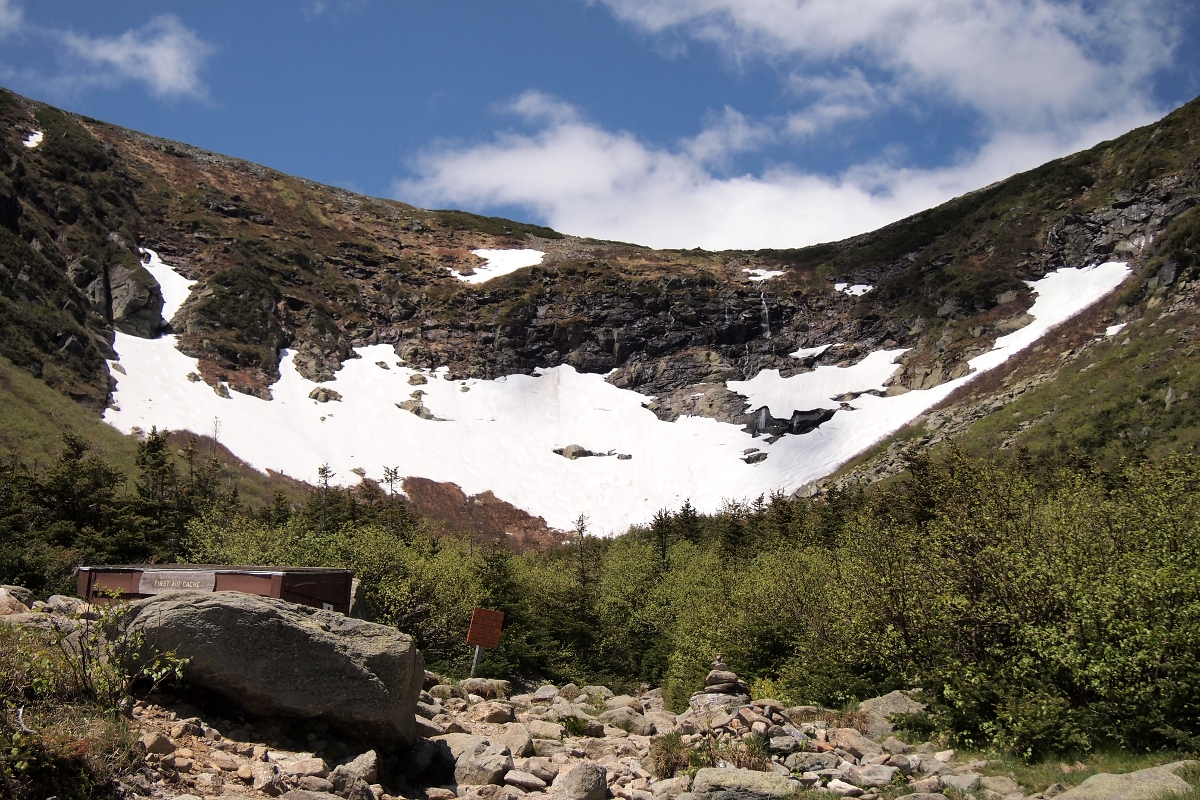 Tuckerman Ravine from the First Aid Cache