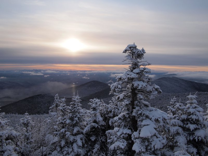 Dawn at Killington Peak