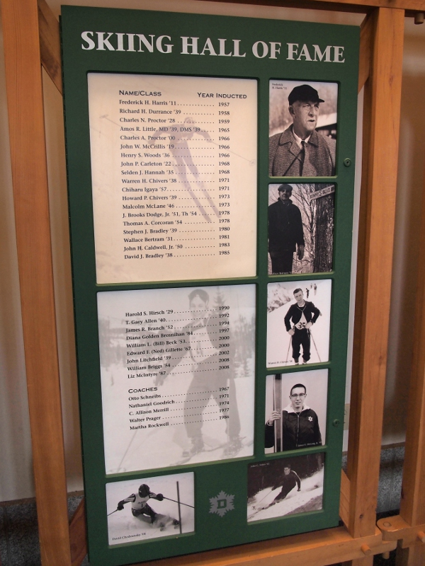Dartmouth Skiing Hall of Fame