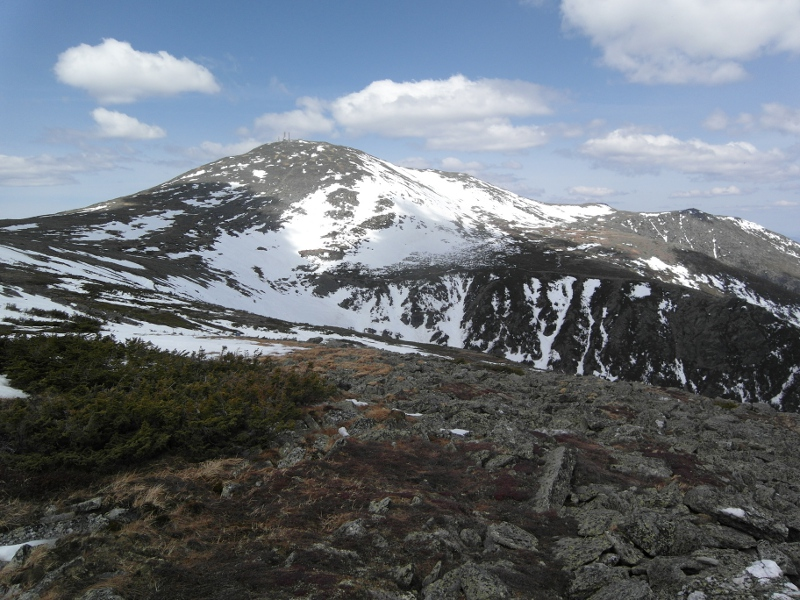 Mount Washington Summit from the Top of Hillman's