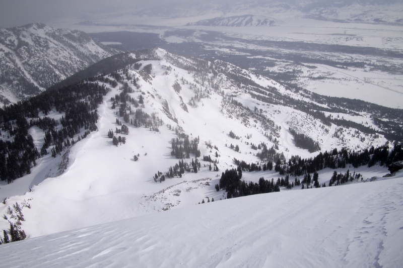 View from Jackson Hole Summit