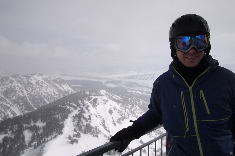 Steve at Jackson Hole Summit